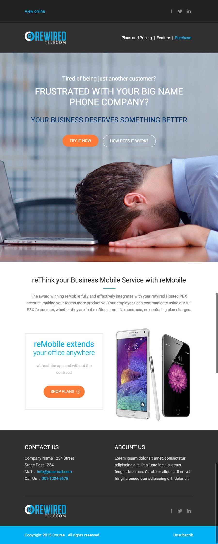 Penyertaan Peraduan #5 untuk Design a marketing email for our campaign