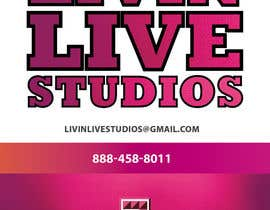 #7 for Design a Flyer for LivinLiveStudios af kopach