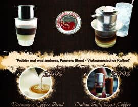 #21 untuk Coffee Promotion for Coffee Shops A6 oleh sumantechnosys