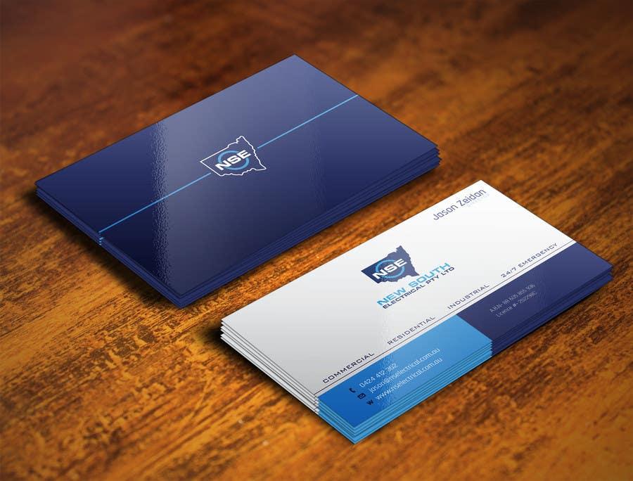 Konkurrenceindlæg #17 for Design some Business Cards for NSE
