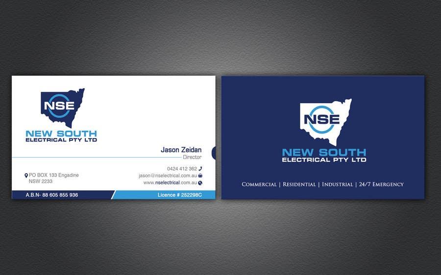Konkurrenceindlæg #16 for Design some Business Cards for NSE