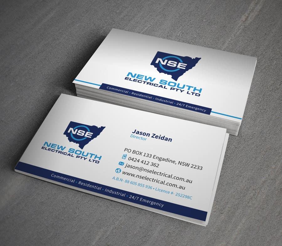 Konkurrenceindlæg #21 for Design some Business Cards for NSE