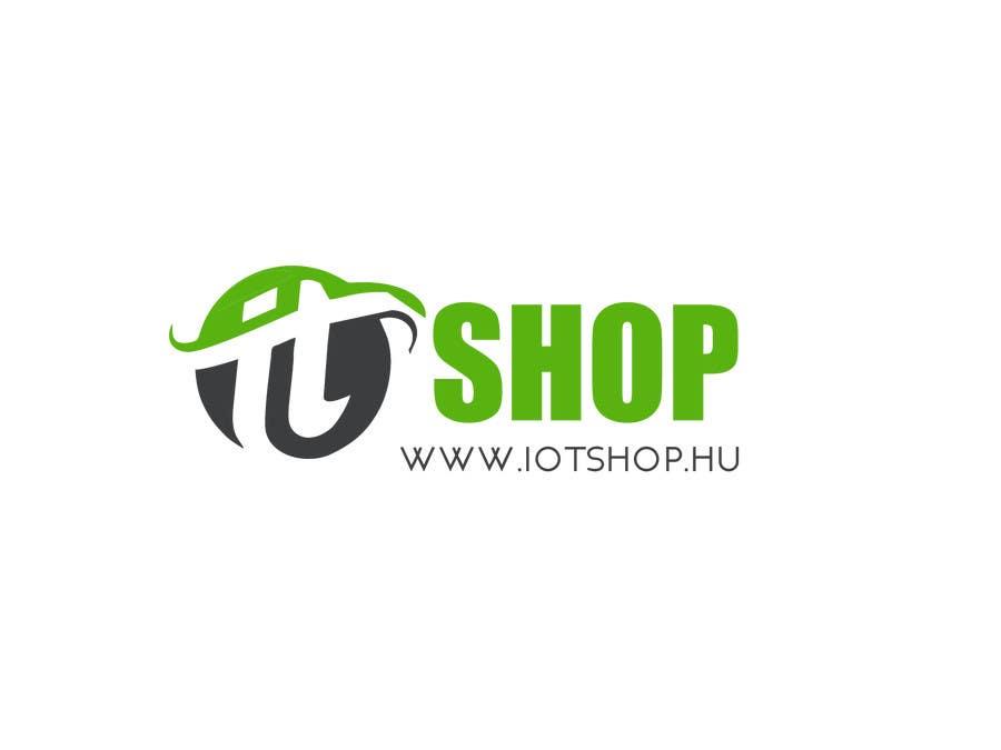 Penyertaan Peraduan #9 untuk Create Logo desing for our electronic webshop