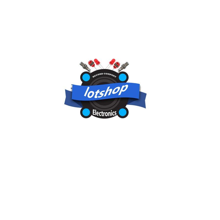 Penyertaan Peraduan #4 untuk Create Logo desing for our electronic webshop