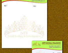 #4 untuk Design a letterhead and business cards for a trading company. oleh manojbarman37