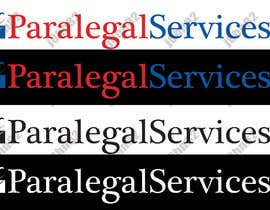 #6 untuk LOGO w/vector for new Paralegal Services co. startup oleh J0HN82