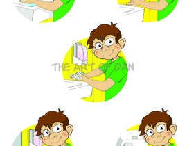 #18 for 5 drawings for a strip depicting the washing of hands for children by theartofdan