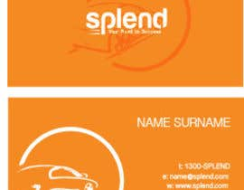 #35 untuk Design some Business Cards for Splend oleh meaganmurray