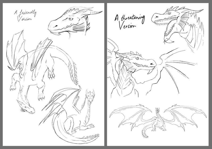 Inscrição nº 40 do Concurso para Illustrate a Dragon