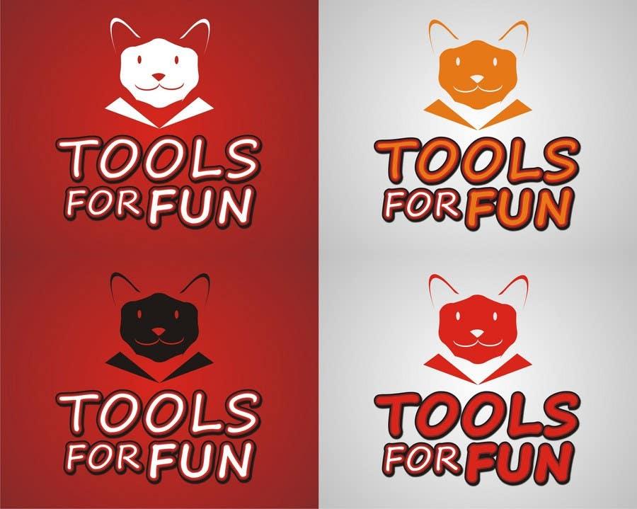 Penyertaan Peraduan #244 untuk Logo Design for Tools For Fun