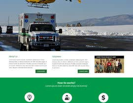 #6 cho Design a Website Mockup for Non-Profit EMS Agency bởi Pavithranmm