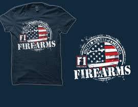 #7 for Firearms T-Shirt af simrks