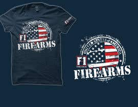 #28 for Firearms T-Shirt by simrks