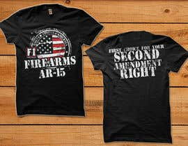 #32 for Firearms T-Shirt by simrks