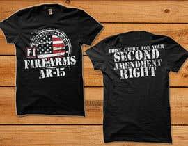 #32 for Firearms T-Shirt af simrks