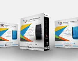 #41 untuk Create Print and Packaging Designs for 3D Filament oleh madlabcreative