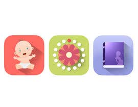 #4 for Design three Icons for mobile Apps by christian95it
