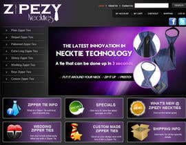#48 for DESIGN 4 X JQUERY BANNERS FOR DISPLAY ON ZIPEZY NECKTIES' WEBSITE by creationz2011