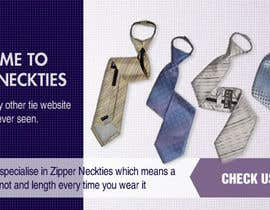 #11 for DESIGN 4 X JQUERY BANNERS FOR DISPLAY ON ZIPEZY NECKTIES' WEBSITE by earlybirdvw