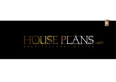 #86 para Design a Logo for HOUSE PLANS Architectural Company por creativeartist06