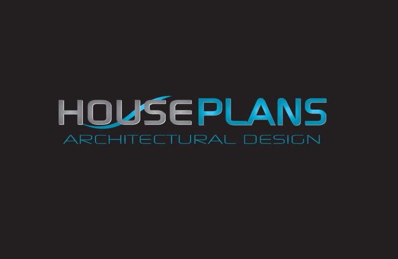 Penyertaan Peraduan #168 untuk Design a Logo for HOUSE PLANS Architectural Company