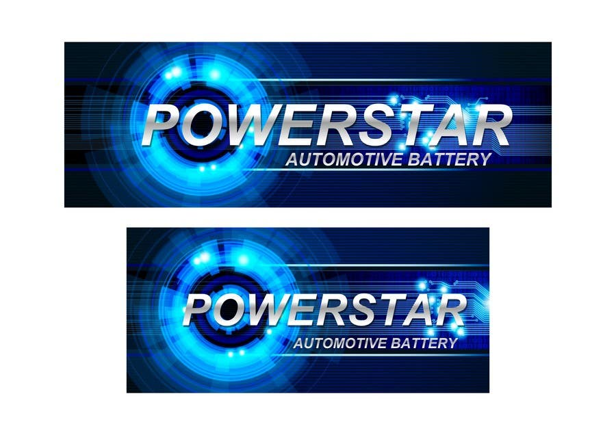 Penyertaan Peraduan #17 untuk Design a Banner for automotiva battery label
