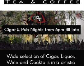 #37 for Design an Advertisement for a Cigar Lounge and Pub af raidipesh40
