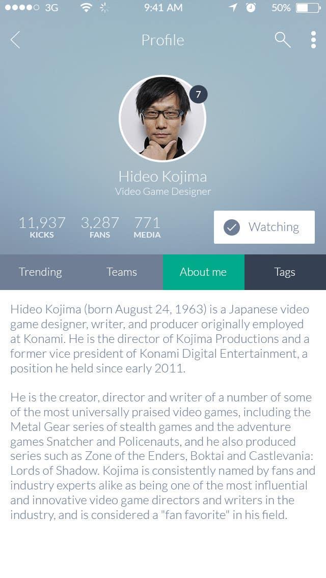 Konkurrenceindlæg #15 for Design an App Mockup for iSporty app