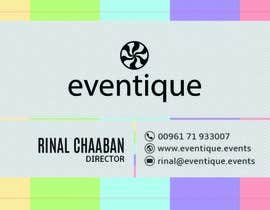 #33 cho Design Stationery for events company bởi anikush