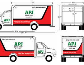 #77 for Vehicle Layout & Advertisement + New Company Logo af ArtCulturZ