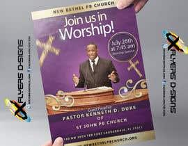 #6 untuk Church Announcement oleh xflyerdsigns