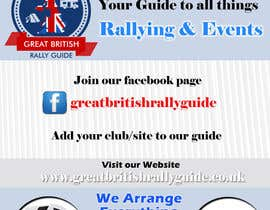 #7 cho Design an Advertisement for Great British Rally Guide bởi gopalnitin