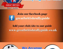 #12 cho Design an Advertisement for Great British Rally Guide bởi gopalnitin