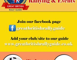 #13 cho Design an Advertisement for Great British Rally Guide bởi gopalnitin