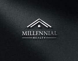 #101 untuk Millennial Logo oleh DesignDock