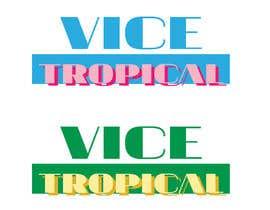 sophiestubbs tarafından Design a Logo for Vice Tropical için no 2