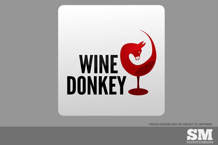 Inscrição nº 154 do Concurso para Logo Design for Wine Donkey