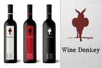 Graphic Design Inscrição do Concurso Nº318 para Logo Design for Wine Donkey