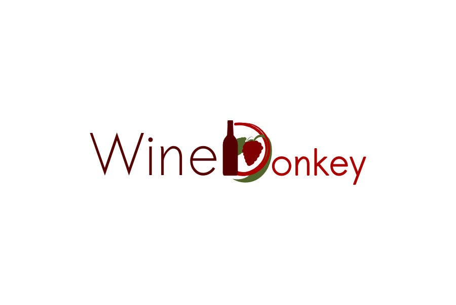 Contest Entry #202 for Logo Design for Wine Donkey