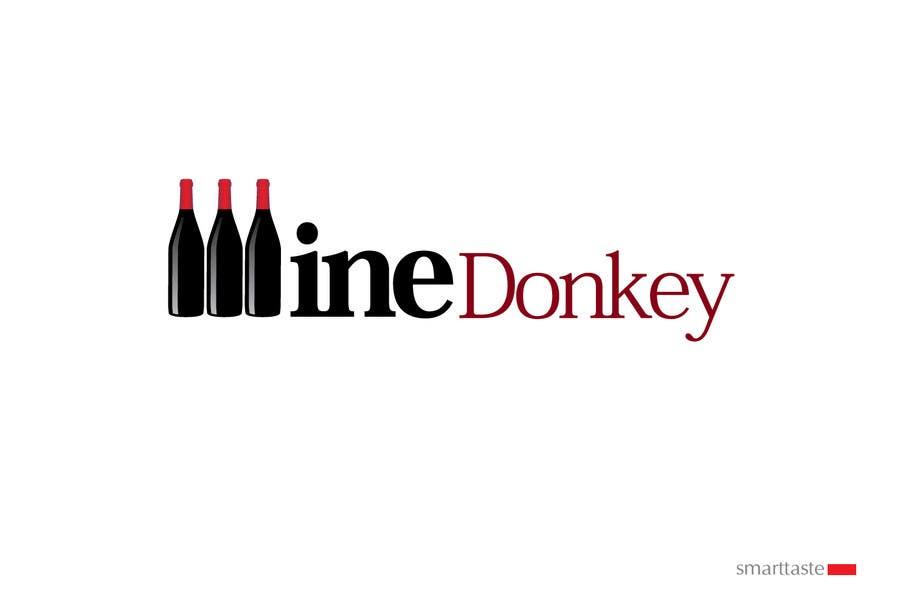 Penyertaan Peraduan #404 untuk Logo Design for Wine Donkey
