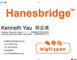 chanmack tarafından Design some Business Cards for Hanesbridge için no 5