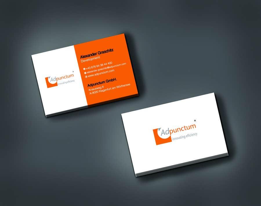 Bài tham dự cuộc thi #25 cho Design some Business Cards for Adpunctum GmbH