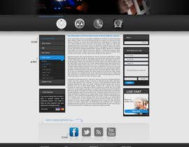 #37 para Website Design for Bad Boy Defenders de herick05