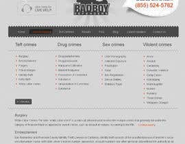 #43 untuk Website Design for Bad Boy Defenders oleh blanker