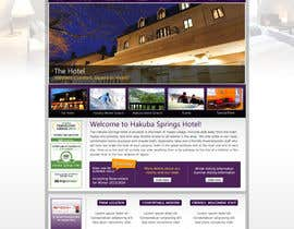 nº 23 pour Hotel website design template par anjaliarun09