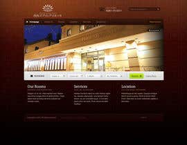 #30 cho Hotel website design template bởi wonderyou1982