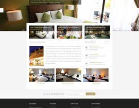 nº 16 pour Hotel website design template par iffal