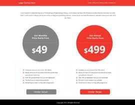 #2 cho Design a Website Mockup for pricing page bởi Lakshmipriyaom
