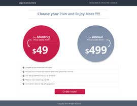 #5 untuk Design a Website Mockup for pricing page oleh Lakshmipriyaom
