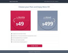 #6 untuk Design a Website Mockup for pricing page oleh Lakshmipriyaom